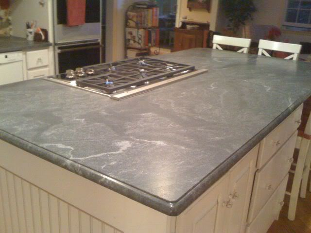 Virginia Mist Granite White Kitchen