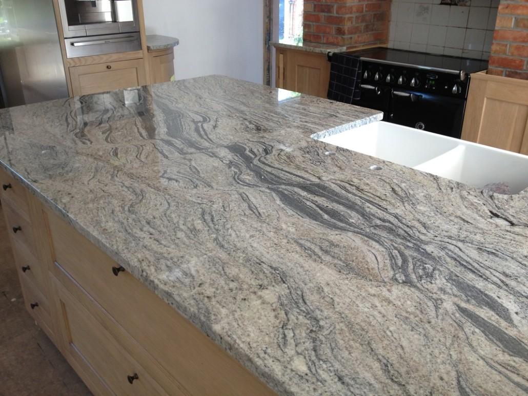 Piracema White Granite Kitchen Pictures