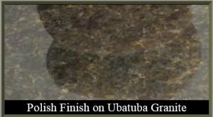 polished finish granite